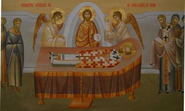 Moartea Sfantului Ioan gura de aur